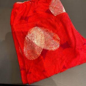 Lularoe OS Valentine's Day leggings